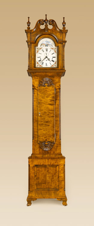 Philadelphia Grandfather Clock