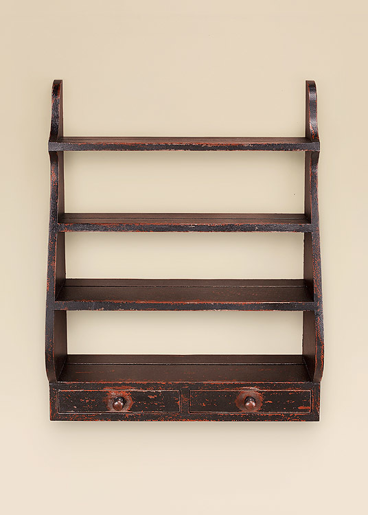 Rustic Shelves Image