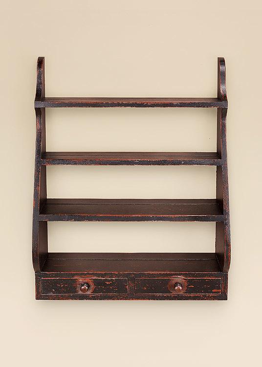 Rustic Shelves Image