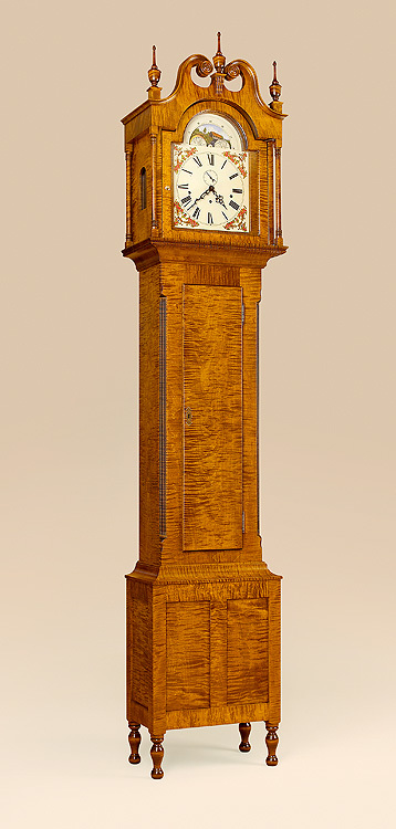 Virginia Grandfather Clock Image