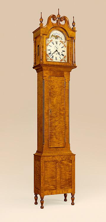 Virginia Grandfather Clock Image