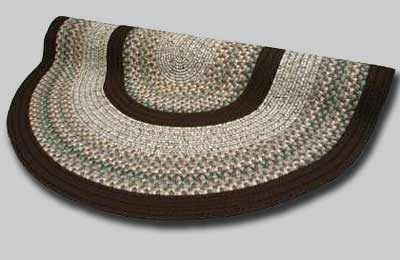 Beantown Braided Rug - Baked Beans Brown - Number 22 Image