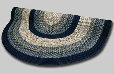 Beantown Braided Rug - Charles River Blue - Number 23 Image