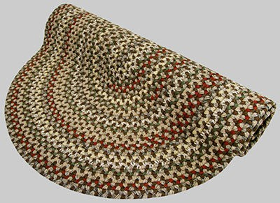 Vineyard Haven Braided Rug - Island Cliffs - Number 602 Image