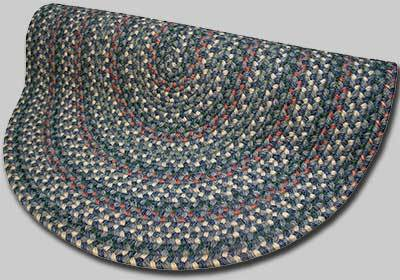 Pioneer Valley II Braided Rug - Meadowland Blue - Number 70 Image