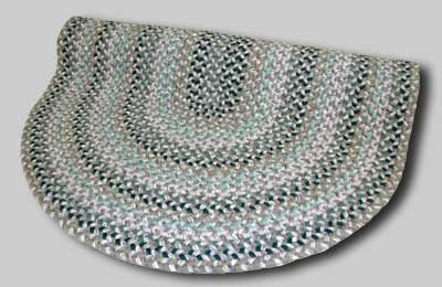 Pioneer Valley II Braided Rug - Aqua Mist - Number 72 Image