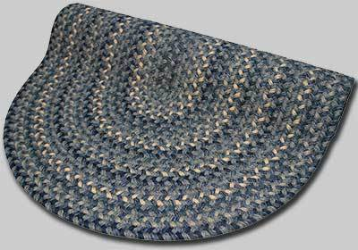 Pioneer Valley II Braided Rug - Williamsburg Blue - Number 73 Image