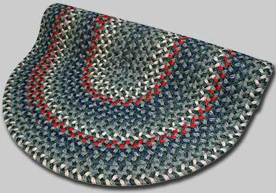 Pioneer Valley II Braided Rug - Caribbean Blue - Number 76 Image