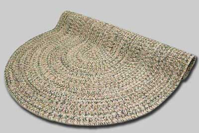 Town Crier Braided Rug - Green Heather - Number 94 Image