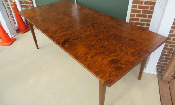 tiger maple wood Pennsylvania Table