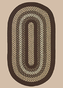 Green Mountain Braided Rug - Fudge Brown - Number 10 Image