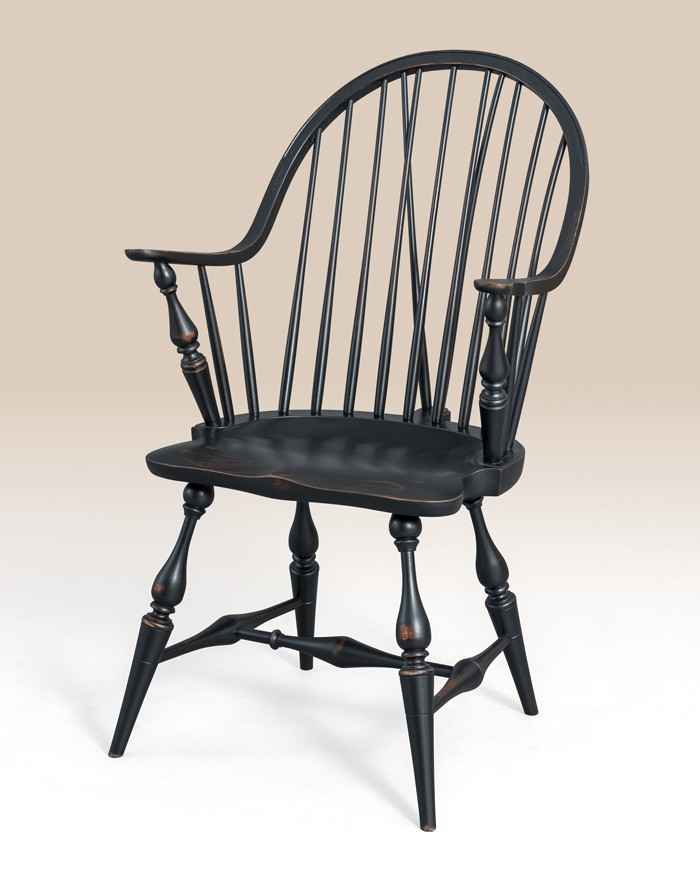 Historical New York Continuous Windsor Armchair with Brace Image