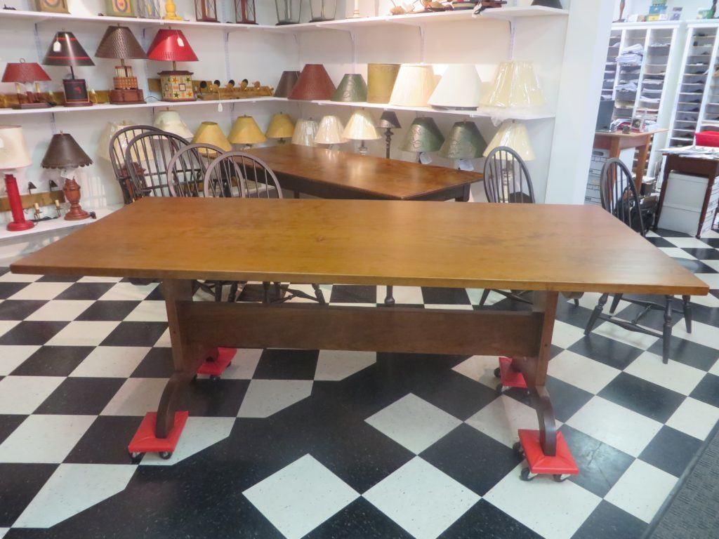 7ft Groffs Trestle Table - Available