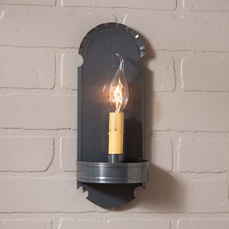 Foot Sconce in Country Tin Image