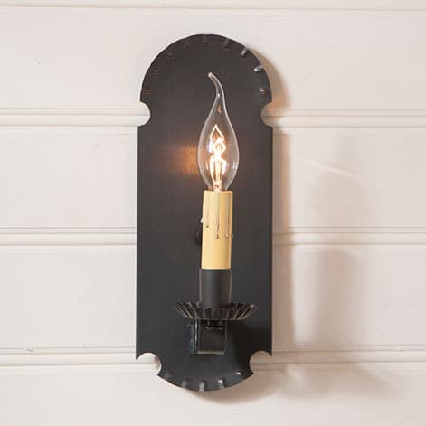Apothecary Sconce in Blackened Tin Image