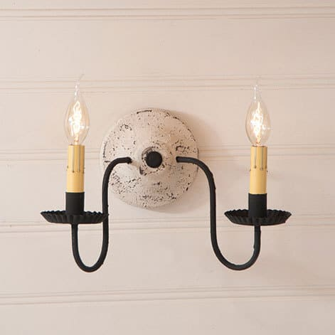 Ashford Wall Sconce in Americana Vintage White Image