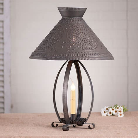 Betsy Ross Lamp with Chisel Shade Image