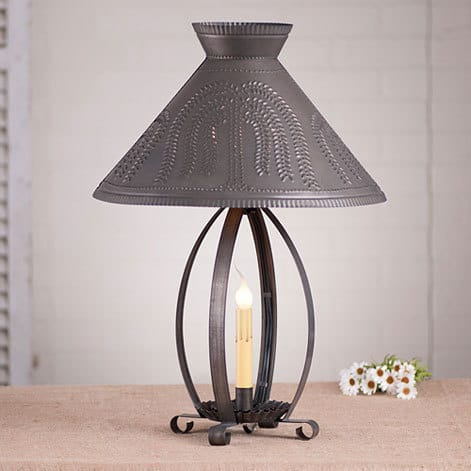 Betsy Ross Lamp with Willow Shade Image