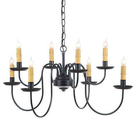 Bloomfield Eight Arm Two Tier Chandelier Image