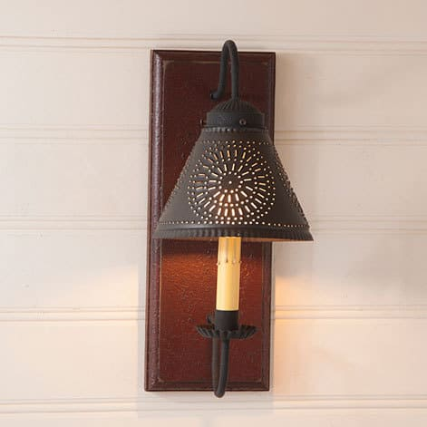Crestwood Sconce in Americana Plantation Red Image