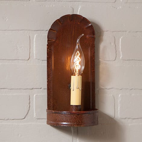 Fireplace Sconce in Rustic Tin Image