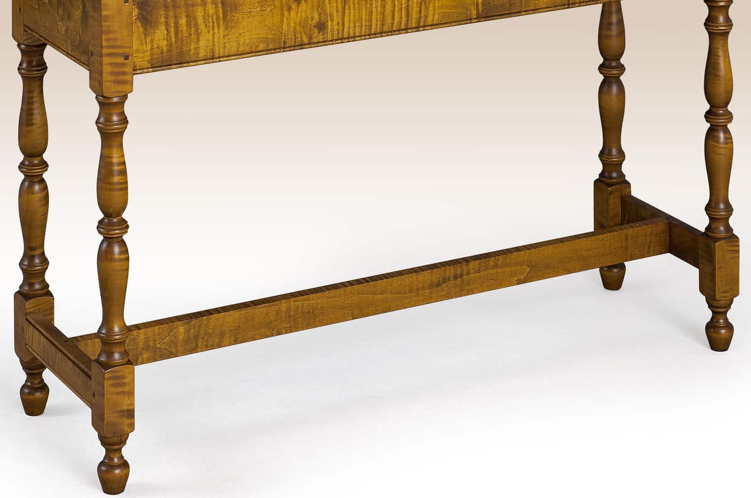 Historical Chatham Stretcher Base Sofa Table