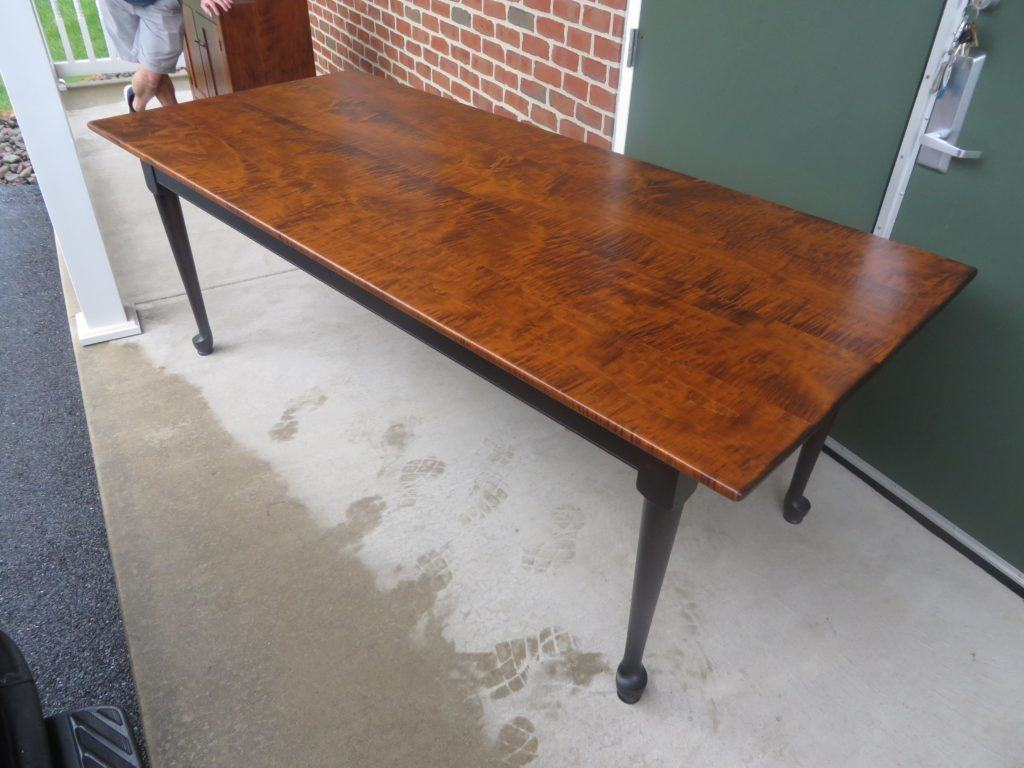 7ft Queen Anne Farm Table - Available
