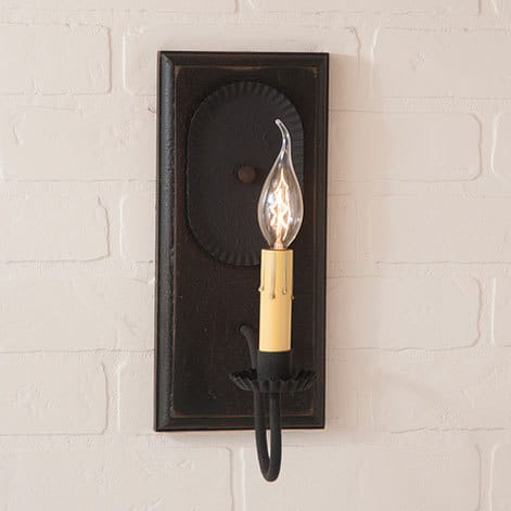 Wilcrest Sconce in Americana Black Image
