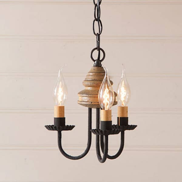 Bellview Wooden Chandelier in Americana Pearwood Image
