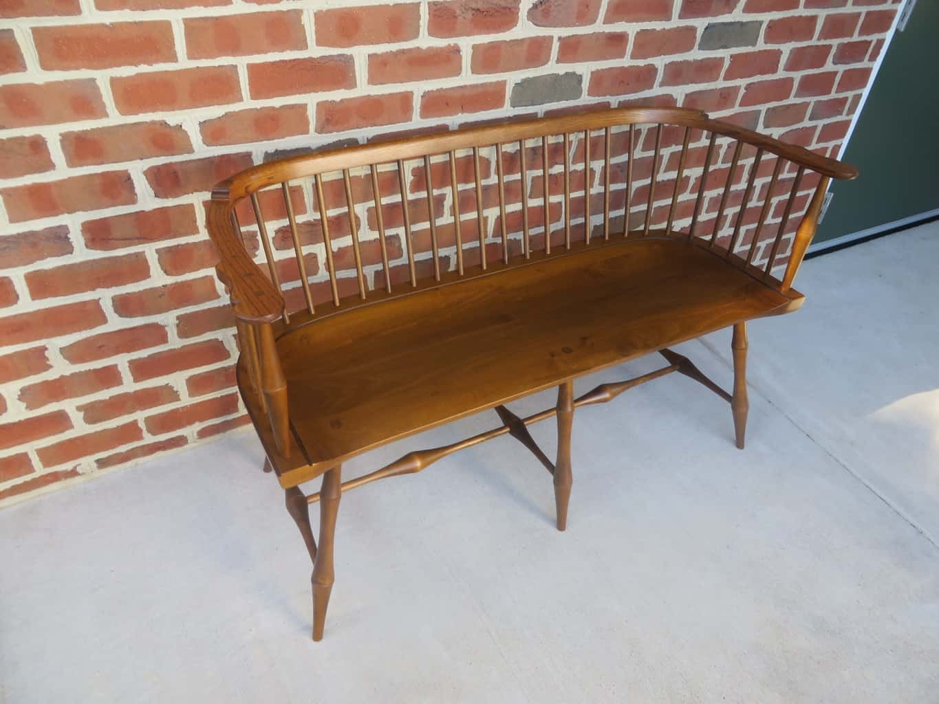 Windsor Bench With Bamboo Style Turnings Great Windsor Chairs