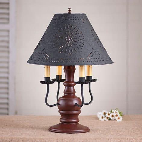 Cedar Creek Lamp in Sturbridge Red Image