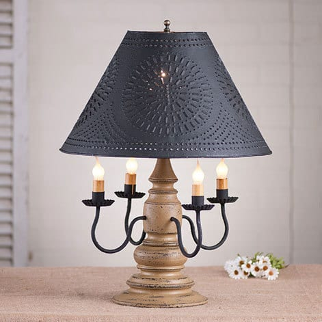 Harrison Lamp in Americana Pearwood Image