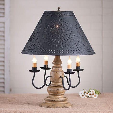 Harrison Lamp in Americana Pearwood Image