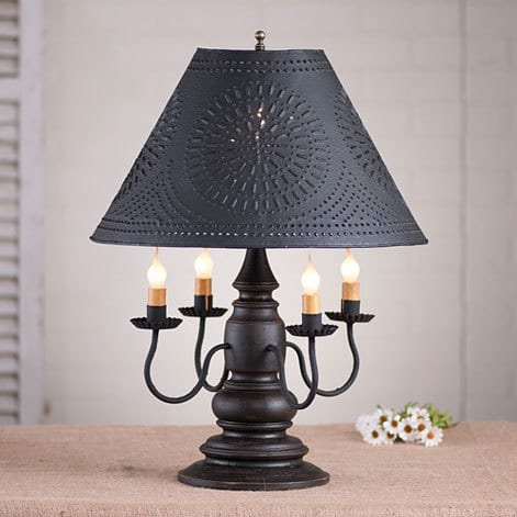 Harrison Lamp in Americana Black Image