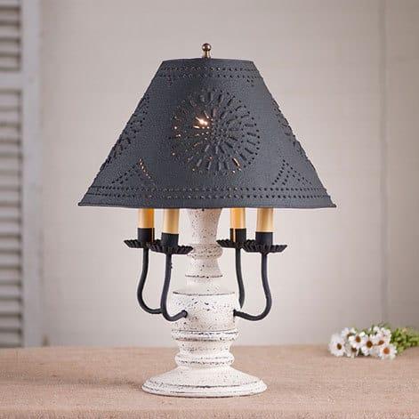 Cedar Creek Lamp in Americana Vintage White Image