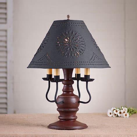 Cedar Creek Lamp in Americana Plantation Red Image