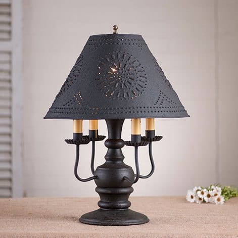 Cedar Creek Lamp in Americana Black Image