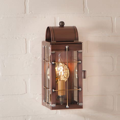 Cape Cod Wall Lantern in Antique Copper Image