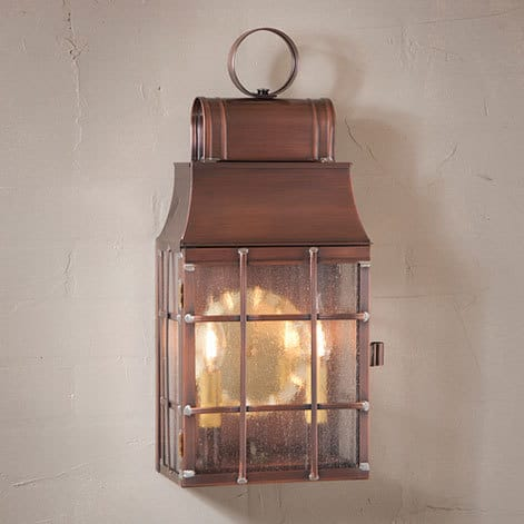 Washington Wall Lantern in Antique Copper Image