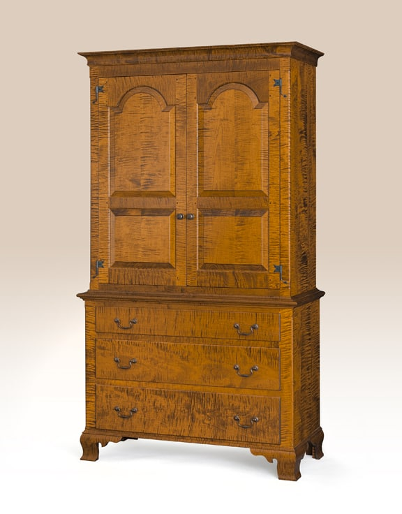Historical Pennsylvania Clothes Cabinet Image