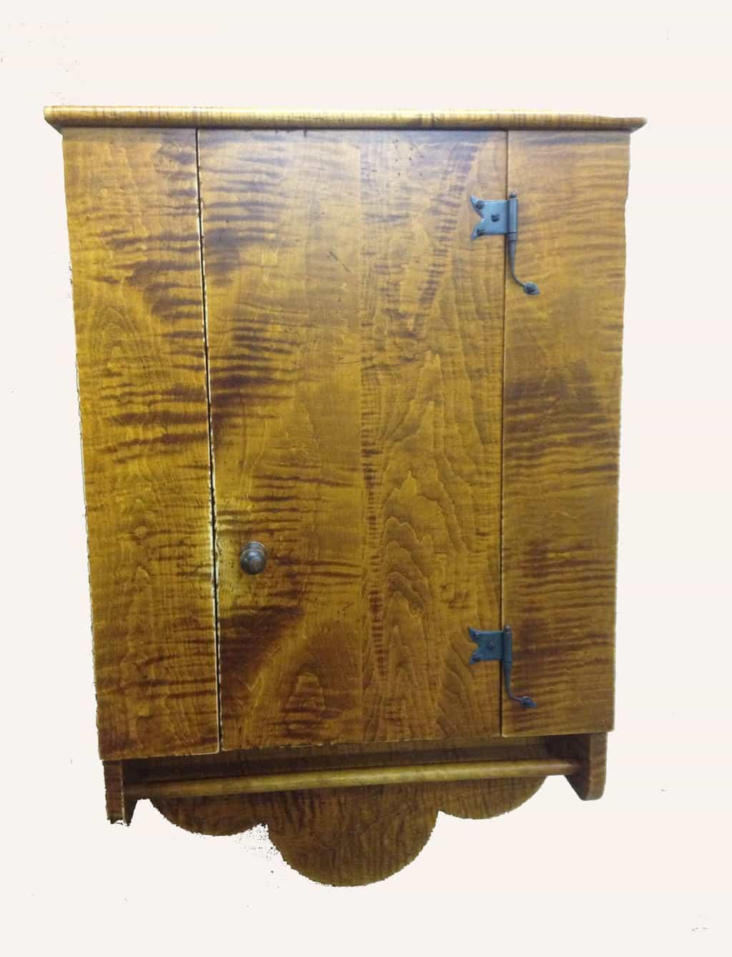Historical Hanging Lancaster Cabinet Image