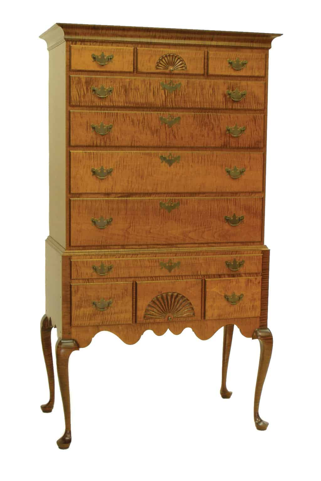 Historical New England Highboy Image