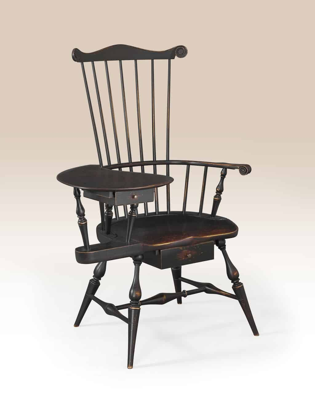 Historical Chester Writing Armchair Image
