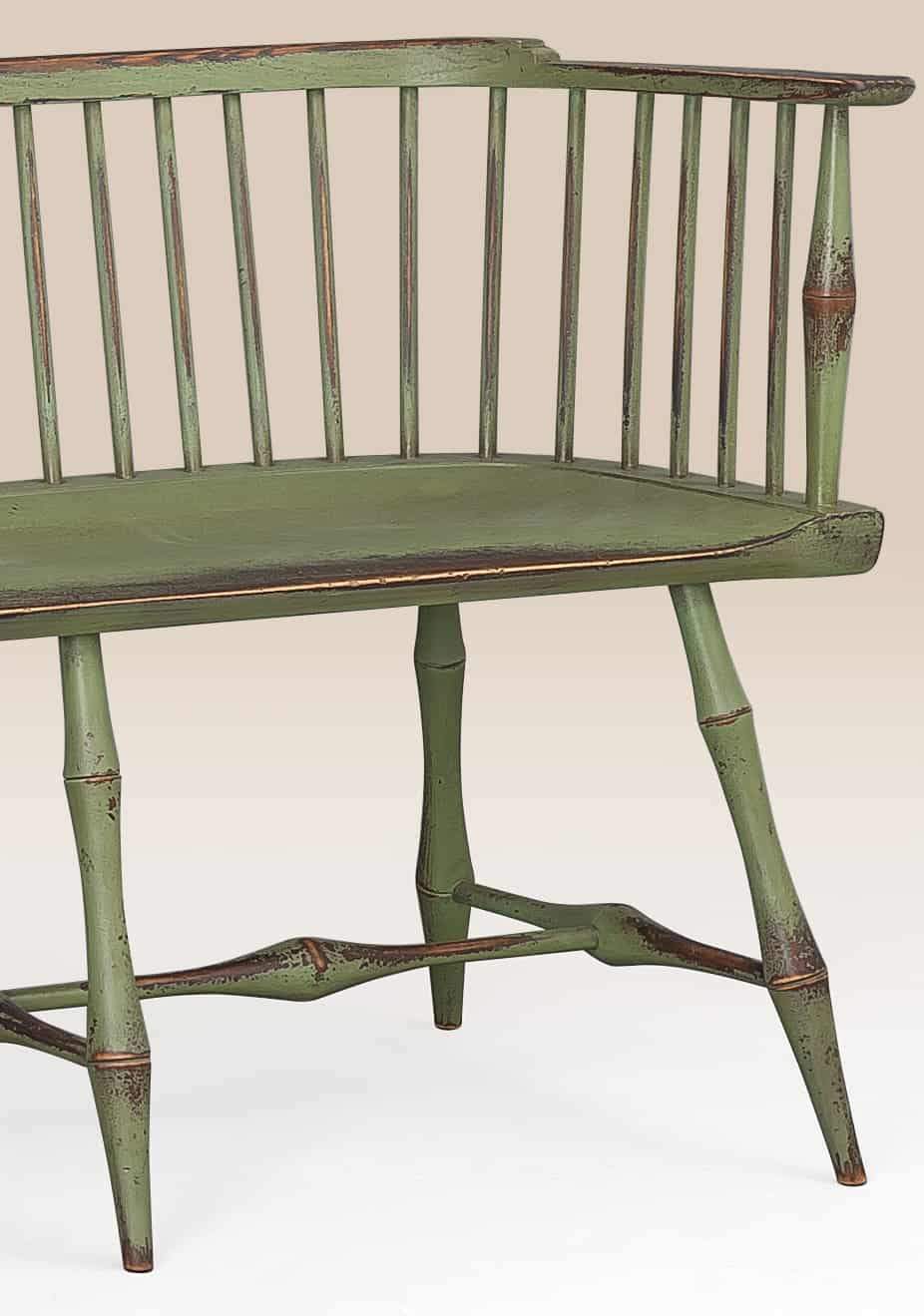 Historical Greenwich Low Back Bench