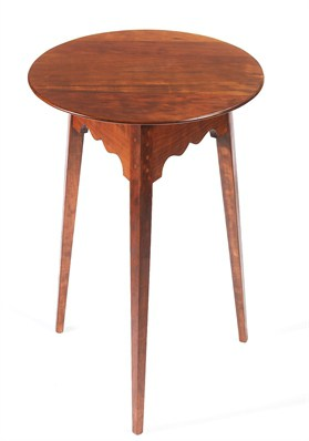 Round Table with Tapered Legs Image
