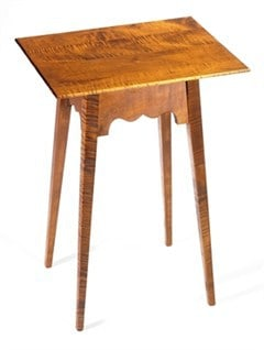 Rectangle Table with Tapered Legs Image