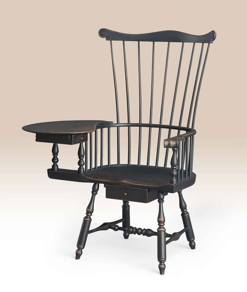 Historical Philadelphia Writing Armchair Image
