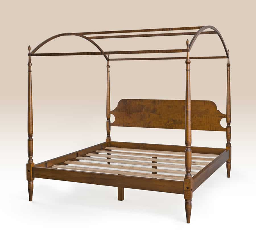 Historical Delaware Bed Image
