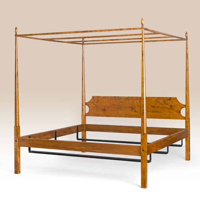 Historical Essex Bed with Canopy Image