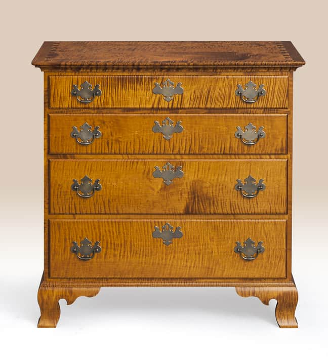 Historical MA Four Drawer Chest Image
